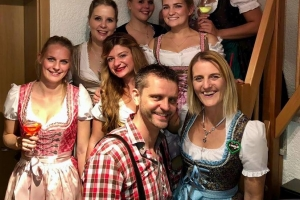Oktoberfest-Party